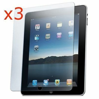 3 x CRYSTAL CLEAR SCREEN PROTECTOR GUARD FILM COVER FOR APPLE IPAD 4 3 & 2 gen.