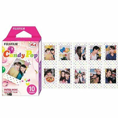 Fujifilm Instax Mini Film Candy Pop for Fuji Mini Neo 90 8 7s 25 55i SP-1 300