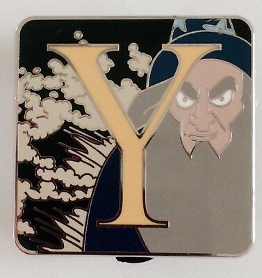 """Disney Alphabet Mystery Collection """"Y"""": Yensid Limited Release Pin (Fantasia)"""