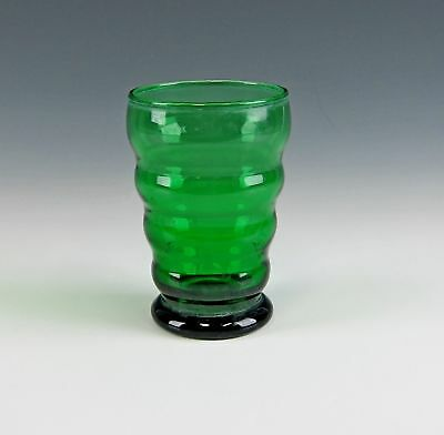 Anchor-Hocking Glassware WHIRLY TWIRLY-FOREST GREEN 5oz Tumbler(s)Multi Avail EX