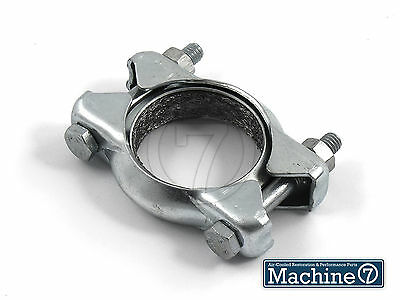 Classic VW Beetle Exhaust Tailpipe Fitting Clamp Bug Ghia J-Tubes Heat Exchanger
