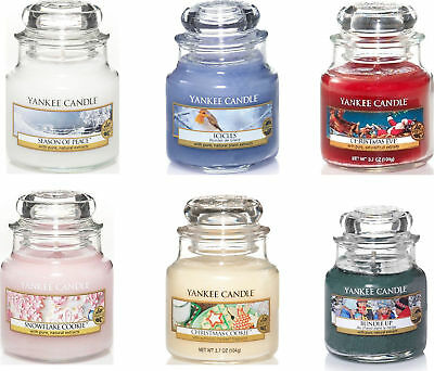 Yankee Candle Festive / Christmas Small Jar Collection. Choose Your Fragrance