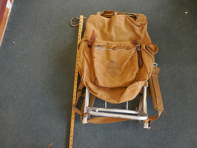 Vintage Bsa Boy Scouts Of America Canvas Cruiser Back Pack 1307 Cruiser