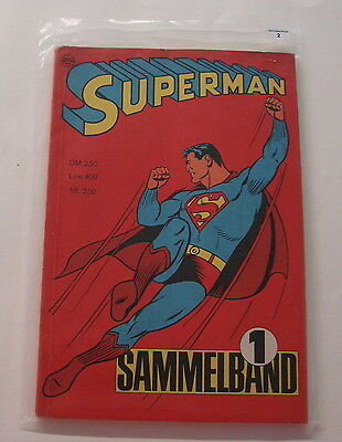 Superman Sammelband (Ehapa, Gb.) Nr. 1 (Z2)