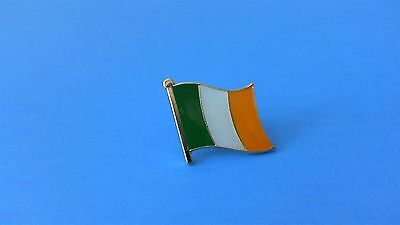 Ireland Irish Flag Pin Badge Tie Tack! Brand New Celtic