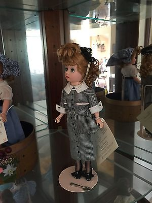 "RARE Madame Alexander I LOVE LUCY 9"" Doll with Spoon & Vitameatavegimin"