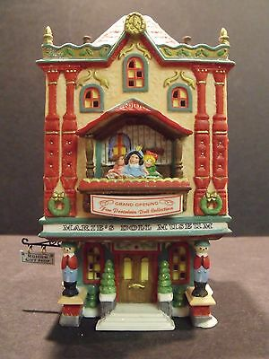"""Dept 56 North Pole """"marie's Doll Museum"""" - #56408 - New In Box"""