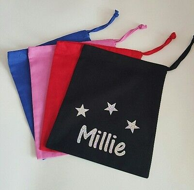 Personalised gymnastic hand guard bag/ small gym bag
