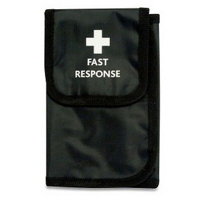 Empty Black Fast Response Belt Wallet With Belt Loop And Internal Compartments
