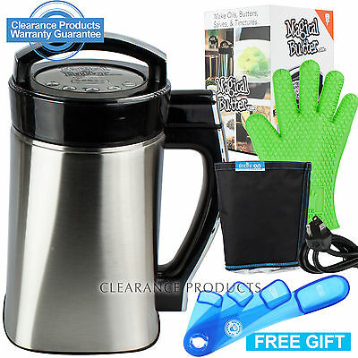 Magical Butter Machine 2 MB2 Herbal Infuser Botanical Extractor  Oils FREE GIFT