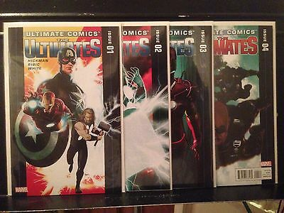Lot of 4 Ultimates #1 2 3 4 (2011 Marvel) Combined Shipping Deal!