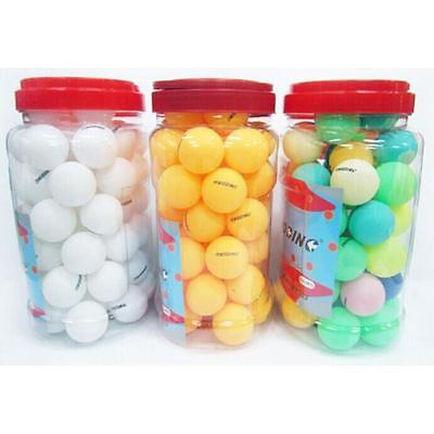 60Pcs Ping Pong Ball Beer Pong Table Tennis Lucky Dip Gaming Lottery Washable