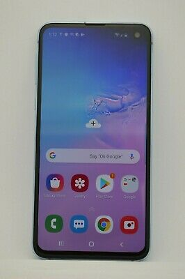 Samsung Galaxy S10E SM-G970U 128GB BLUE GSM UNLOCKED VERIZON AT&T TMOBILE METRO