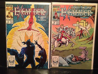 Lot of 2 Excalibur #11 & 12 (1989, Marvel) Combined Shipping Deal!
