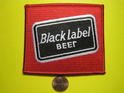 BEER PATCH  BLACK LABEL BEER PATCH LOOK AND BUY IT NOW!