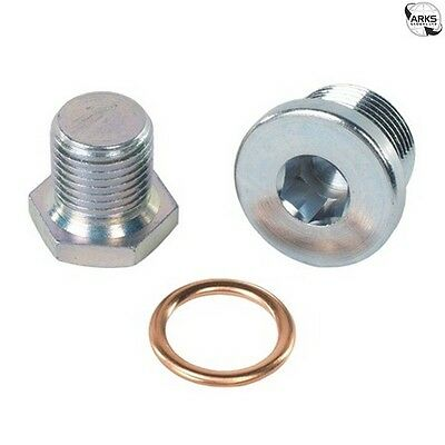 CORTECO Sump Plug & Washer Blister Pack - Peugeot/Citroen - 220100S