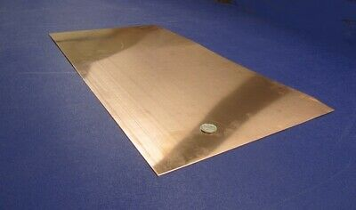 "110 Copper Sheet 1/2 Hard H02  .062"" Thick x 12.0"" Wide x 24.0""  Length"