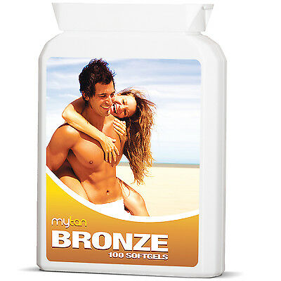 MyTan Bronze Sunless Tanning Pills Safe Healthy Tan Tablets Worldwide Bestseller