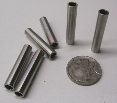 Stainless Steel Spacer, M4 Screw, 6 mm OD x 4.2 mm ID x 30 mm Length, 6 pc