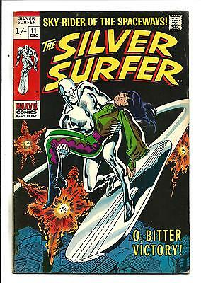 Silver Surfer # 11 (Dec 1969), Fn+
