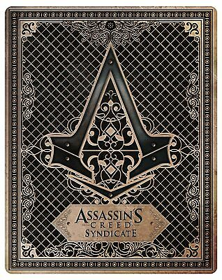 MSRNY PS4 Assassin's Creed Syndicate Steelbook Case G2 size (No Game) RARE!!