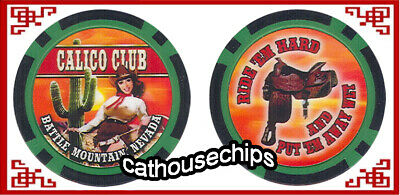 Calico Club Brothel  colletors chip Battle Mountain, NV.  Cat House
