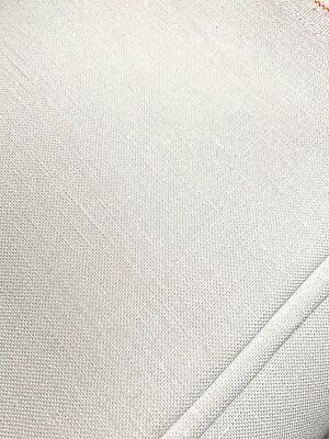 White 40 count Zweigart Newcastle Linen evenweave fabric 50 x 70 cm