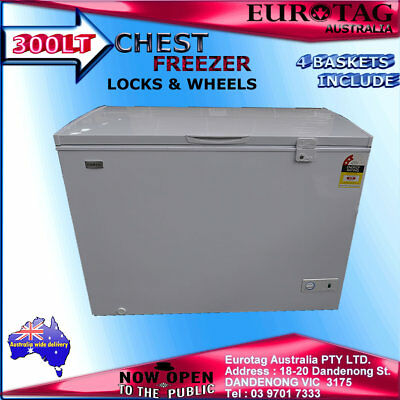 Eurotag 300Lt Chest Freezer With Locks !!!! Brand New!!!! Limited Time Only!!!