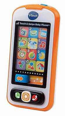 VTechTouch and Swipe Baby Phone,12 light-up pretend apps[80-146100]baby toys XTS