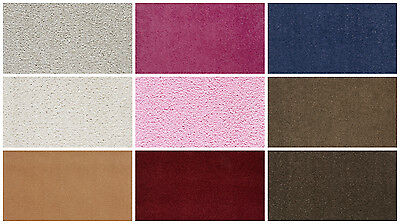 Quality Twist Carpet Feltback  * Various Sizes & Colours*  Lounge Bedroom Stairs