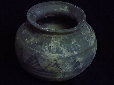 Ancient Teracotta Large Painted Pot Bronze Age 2500 BC