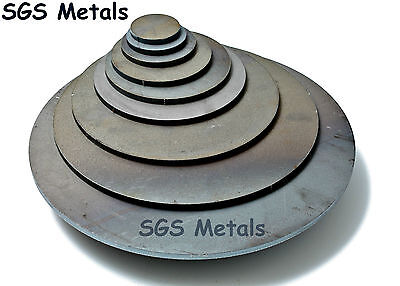 Mild Steel 6.0mm Round BLANK DISCS Fly Press Guillotine Drill Milling Machine