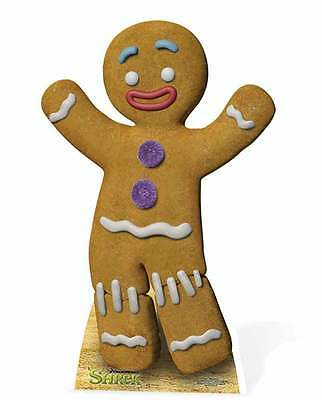 Gingy The Gingerbread Man From Shrek Lifesize Cardboard Cutout/ - Dreamworks