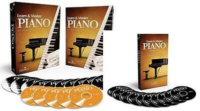 New~Legacy Learn And & Master Piano Academic Edition+ Bonus Workshop= 20 Dvd Set