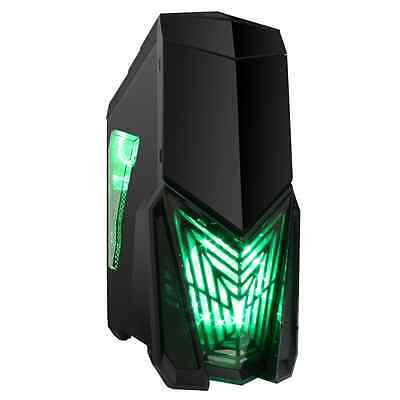 Game Max Destroyer Black Midi Tower Gaming Case - USB 3.0
