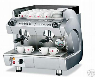 ESPRESSO MACHINE 2 GROUP NEW  IN BOX GAGGIA GD COMPACT Commercial