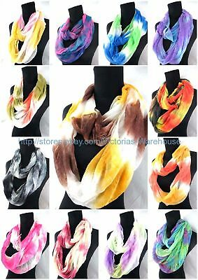 lot of 6 wholesale infinity scarf loop Scarves for Women endless shawl