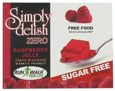 Sugar Free Raspberry Jelly-8g, Fat Free, Dukan, Low Carb, Diabetic,Gelatin Free