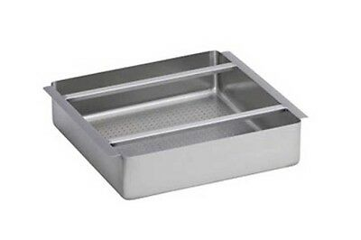 Commercial Stainless Steel Scrap Basket 20X20