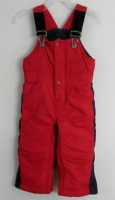 babyGAP Unisex Size 18-24 Months Red Fully-Lined Snowsuit Overalls Outerwear