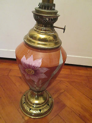 Beautiful Vintage Brass Oil Lamp Base