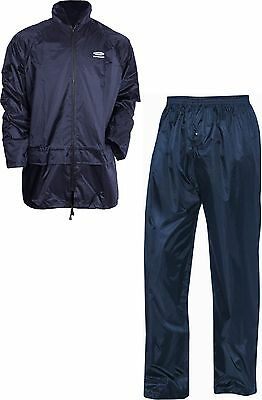 2pc rain suit ideal for fishing  in Blue Or Green
