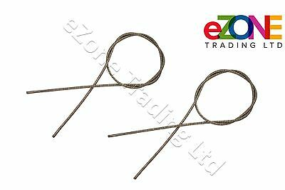 Flexible Cable Inner Wire 147cm for GURDEN ARCHWAY Doner Kebab Knife Cutter QTY2