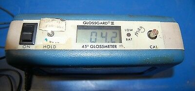Pacific Scientific Glossgard II, 45º Glossmeter (with power cord)