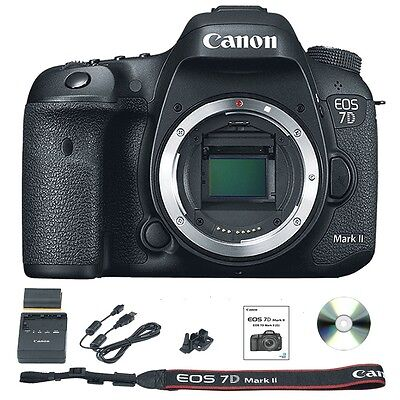 Canon EOS 7D Mark II / MK 2 Camera Body Only 20.2MP DSLR - July 4th Sale
