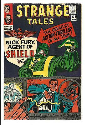 Strange Tales # 135 (1St Nick Fury Agent Of Shield, Aug 1965), Fn+