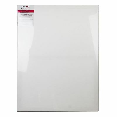 Valuecrafts White Stretch Canvas 80 X 60 Cm Oil Acrylic Painting Board