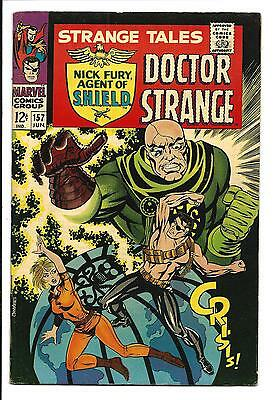 Strange Tales # 157 (Steranko Cover Art/script, Jun 1967), Vf
