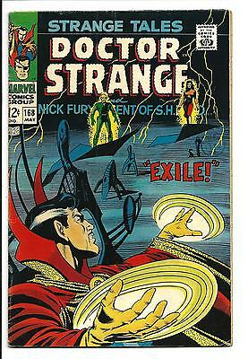 Strange Tales # 168 (Last Nick Fury, May 1968), Fn/vf