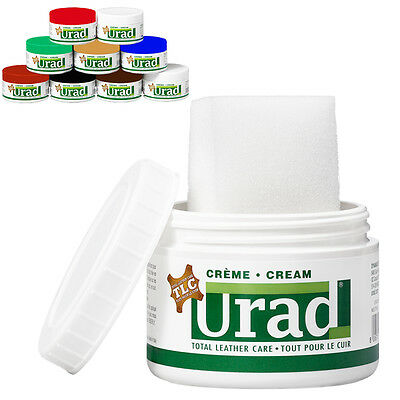 URAD Leather Shoe Boot Self Shining Cream Polish Shine ALL 9 COLORS / ALL SIZES!